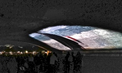projection film, pont de Paris, nuit blanche 2016